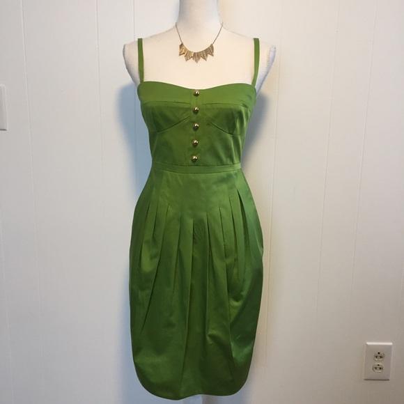 bbf0d9b0f3 Cynthia Steffe Dresses   Skirts - Cynthia Steffe peridot green dress size 2.